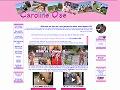 Caroline, exhibitions réelles